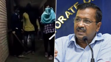 JNU Violence: Delhi CM Arvind Kejriwal 'Shocked', Says 'L-G Anil Baijal Monitoring Situation'
