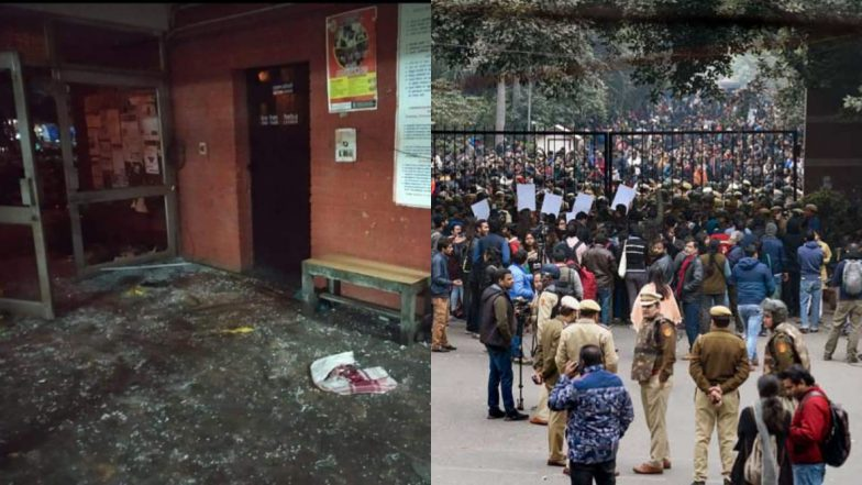 JNU Violence: Biometric Systems, CCTV Cameras In Server Room Were Not Vandalised on January 3, Reveals RTI