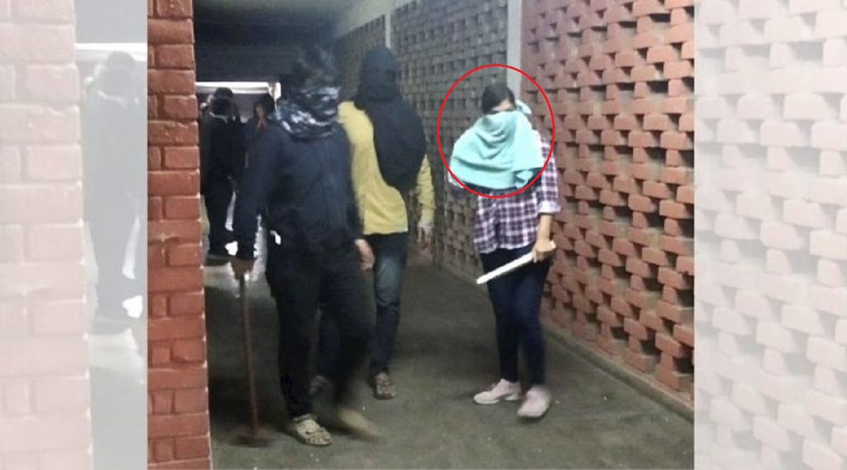 JNU Sting Operation: Masked Woman Seen in Violence Video is 'ABVP Member Komal Sharma', Reveals India Today Investigation