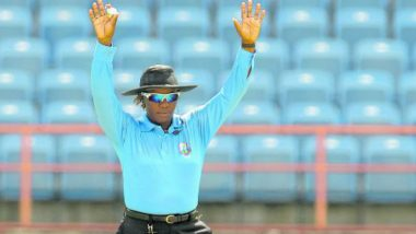 Jacqueline Williams Set to Become 1st Woman 3rd Umpire in Men's International