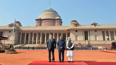Brazil President Jair Bolsonaro, Chief Guest of Republic Day 2020, Accorded Ceremonial Welcome at Rashtrapati Bhawan
