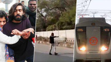 Jamia Shooting: DMRC Shuts Entry And Exit Gates at Jama Masjid, ITO and Delhi Gate Stations; Delhi Police Arrest Suspect 'Rambhakt Gopal'