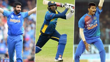 India vs Sri Lanka, 3rd T20I 2020, Key Players: Jasprit Bumrah, Angelo Mathews, Navdeep Saini and Other Cricketers to Watch Out for in Pune