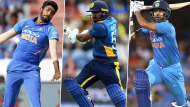 India vs Sri Lanka, 2nd T20I 2020, Key Players: Jasprit Bumrah, Kusal Perera, Shikhar Dhawan and Other Cricketers to Watch Out for in Indore