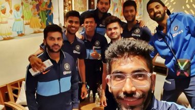 Jasprit Bumrah Shares Picture With Team Ahead of India's Departure for New Zealand T20I Series (See Post)