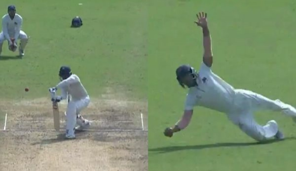Jay Bista Pulls Off a Stunner, Grabs One-Handed Catch During Tamil Nadu vs Mumbai, Ranji Trophy 2019-20 (Watch Video)