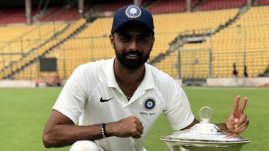 Jaydev Unadkat Has a Hilarious Response to BCCI's Tweet After Saurashtra Wins Ranji Trophy 2019-20 (Watch Video)