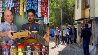 Jeff Bezos, Amazon CEO, Becomes Salesman For A Day in India, Shares Picture on His Twitter