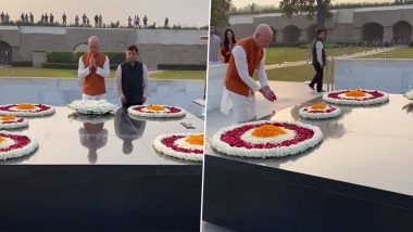 Jeff Bezos Visits Rajghat After Arrival in India, Says 'Mahatma Gandhi Truly Changed The World'