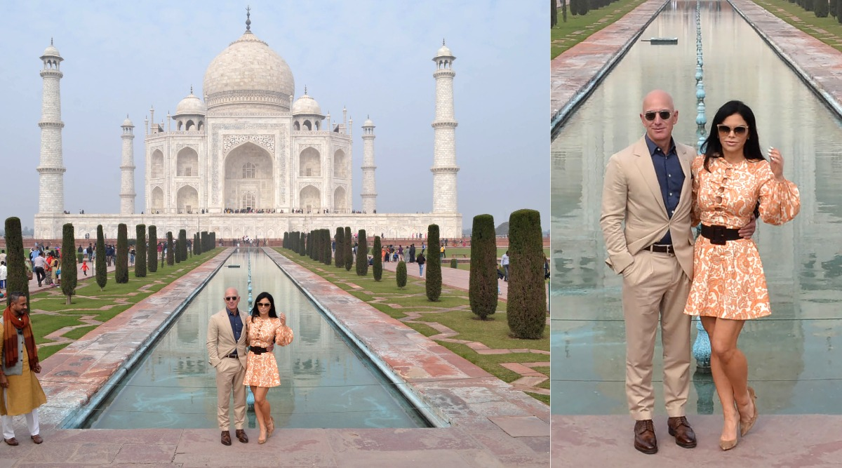 Jeff Bezos and Girlfriend Lauren Sanchez Take Their Romance to New Level, Visit Taj Mahal 'The Symbol of Eternal Love' (View Pics)