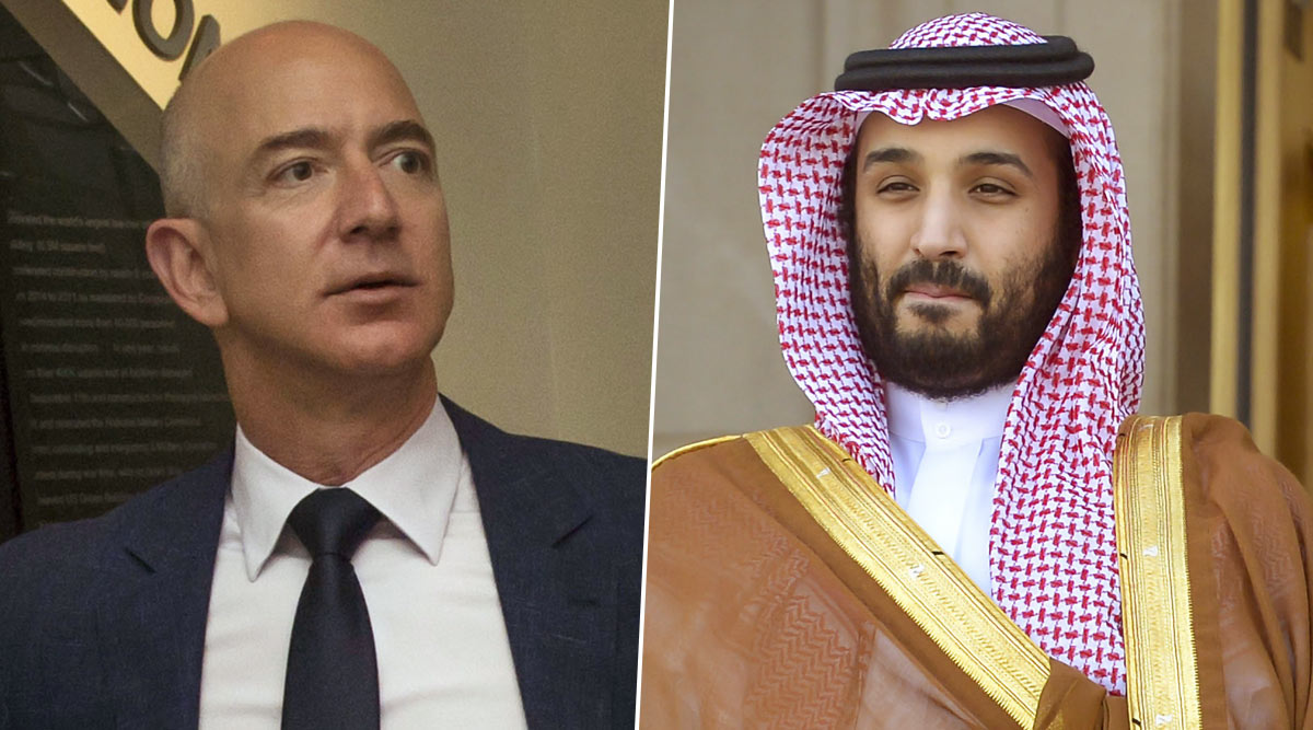 Jefg Bezos Salman Bin - Jeff Bezos's Mobile Phone Was Hacked After Receiving Infected WhatsApp Video From Saudi Crown Prince Mohammed bin Salman's Account: Report