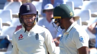 Jos Buttler May Face Fine For Abusing Vernon Philander With 'F' Cuss Word During SA vs ENG 2nd Test Match (Watch Video)