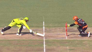 Wicket-Keeper Josh Inglis Displays Brilliant Reflexes to Dismiss Usman Khawaja During Sydney Thunder vs Perth Scorchers Match in BBL 2019–20 (Watch Video)