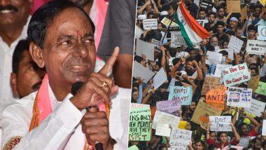 Telangana: CM K Chandrasekhar Rao Govt Mulls to Pass Resolution Against Citizenship Amendment Act in Assembly