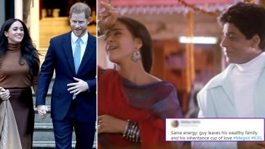 Prince Harry and Meghan's Exit From the Royals Reminds Desi Twitterati of K3G, Hilarious #Megxit Memes and Jokes Will Make You ROFL
