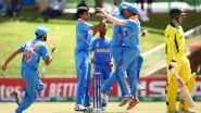 Kartik Tyagi, Atharva Ankolekar Shine As India U19 Qualify for Semi-Final of ICC Under 19 CWC 2020, Beat Australia U19 by 74 Runs in Quarter-Final