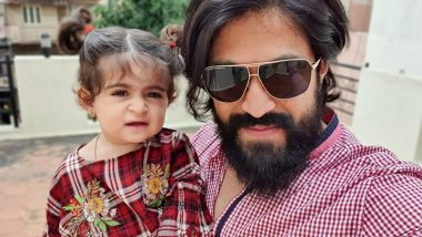 Yash Birthday Special: Give The 'Best Dad Ever' Award to The Handsome KGF Actor Already! (Pics)