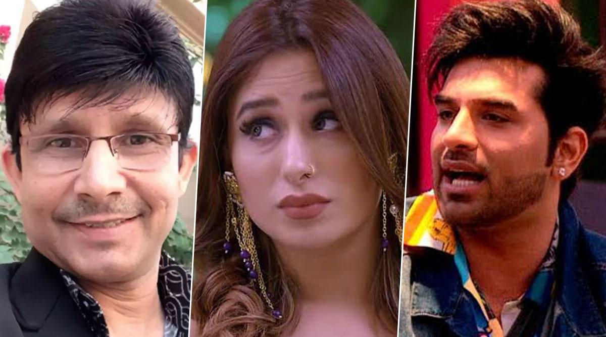 Bigg Boss 13: KRK Calls Mahira Sharma 'Battakh Ke Hoton Wali Chipkali' and Paras Chhabra 'Meetha'