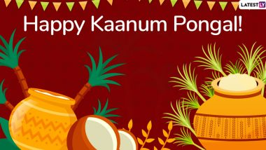Kaanum Pongal 2020 Messages: WhatsApp Stickers, Facebook Greetings, GIF Images, Quotes And SMS to Send Wishes on Tamil Nadu's Harvest Festival