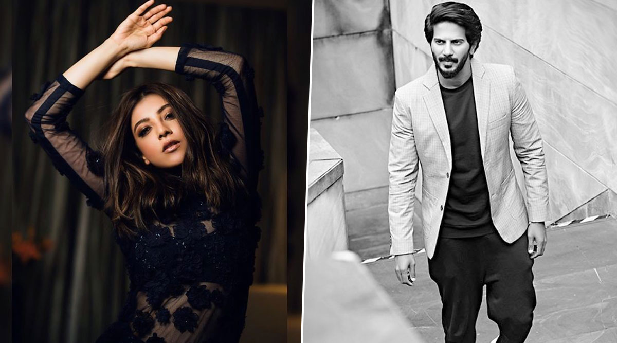 Confirmed! Kajal Aggarwal and Dulquer Salmaan to Share Screen Space in a Tamil Film (Watch Video)