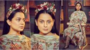 Kangana Ranaut, the Desi Frida Kahlo for Panga Promotions!