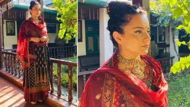 Kangana Ranaut Is All About Ethnic Chicness in a Ritu Kumar Suit!