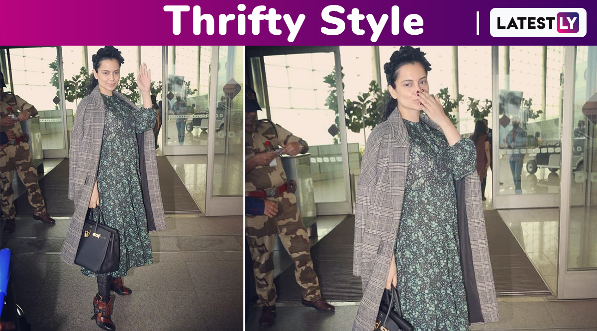 Thrifty Style: Kangana Ranaut's Breezy Airport Style Is A Steal!