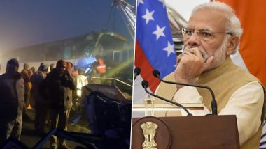 Kannauj Bus Accident: Prime Minister Narendra Modi Offers Condolence, Uttar Pradesh CM Yogi Adityanath Orders Probe as 20 Feared Dead