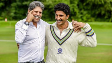 Ranveer Singh Wishes 'Haryana Hurricane' Kapil Dev on His 61st Birthday! The Pics He Shared Is the Perfect Gift for the Legend