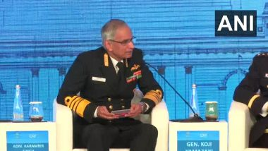 'China-Pakistan Economic Corridor Impinge on India's Sovereignty', Says Navy Chief Karambir Singh at Raisina Dialogue