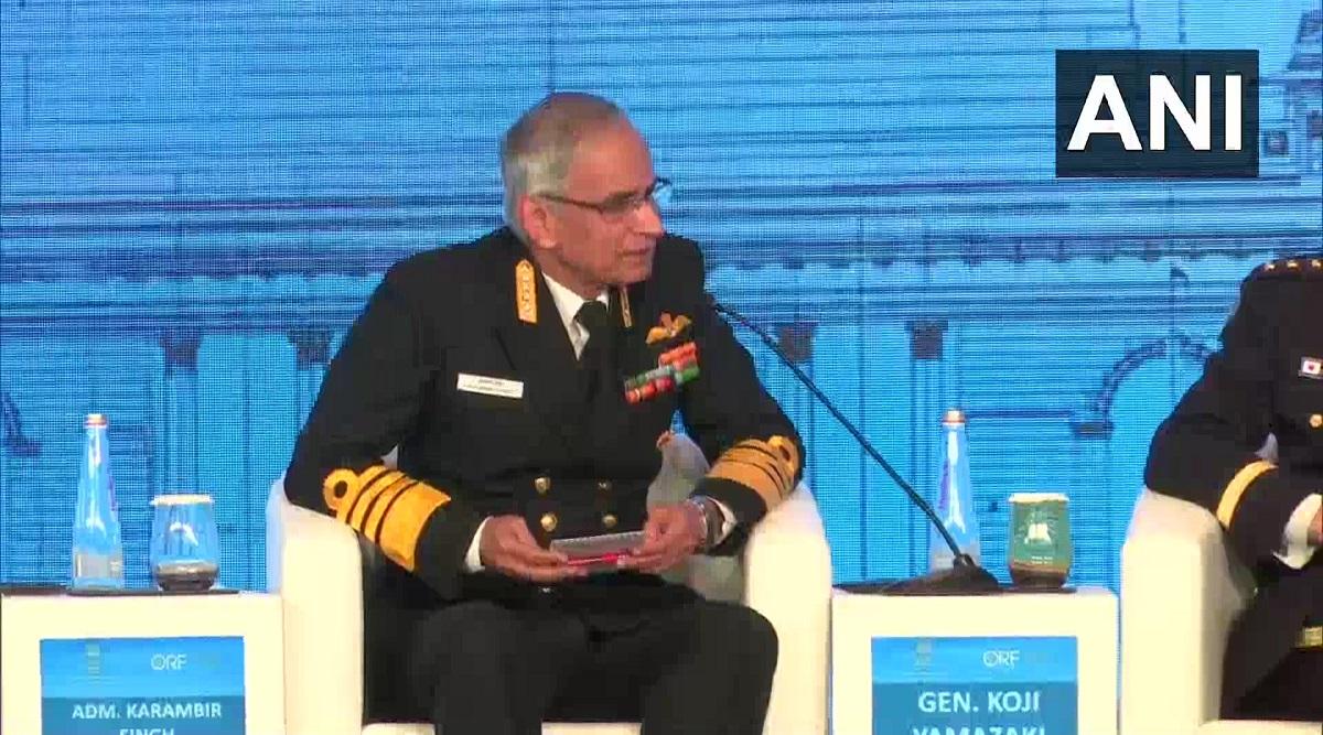 'China-Pakistan Economic Corridor Impinge on India's Sovereignty', Says Navy Chief Karambir Singh at Raisina Dialogue