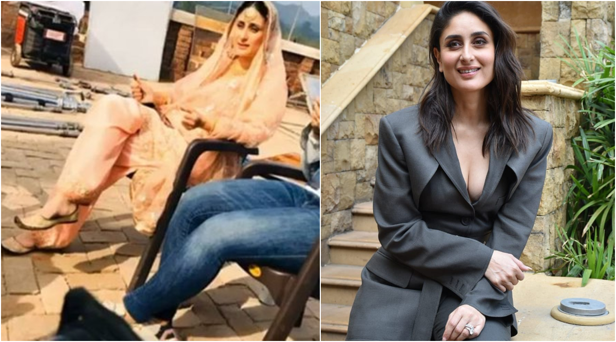 Laal Singh Chaddha: Kareena Kapoor Khan Decks Up in a Traditional Avatar in the Latest Pictures from the Sets of the Film