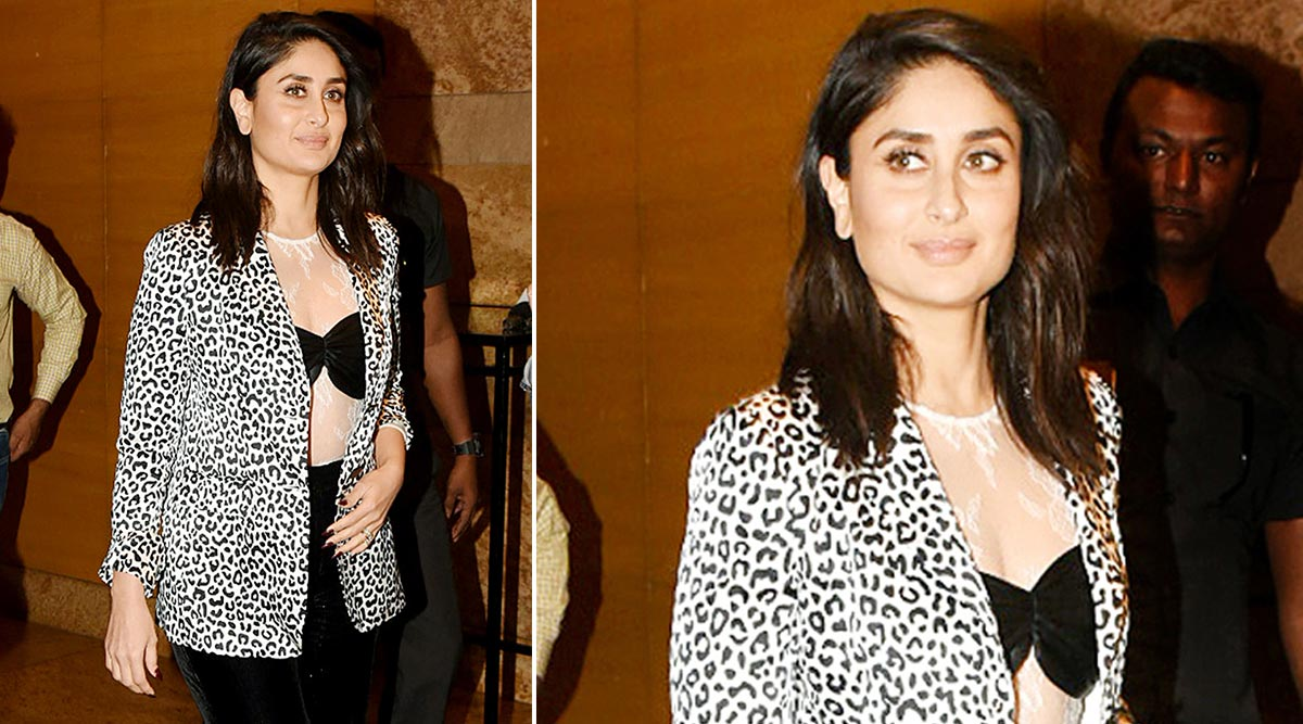 For Kareena Kapoor Khan, Glamour Never Takes a Day Off As Proven by Her Judy Zhang Outfit!