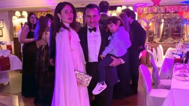 Chiffon, Pastel and Elegance, Kareena Kapoor Khan Rings In the New Year in Gstaad!