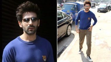 Kartik Aaryan, the Chocolate Boy in a Teddy Bear Moschino Jumper!