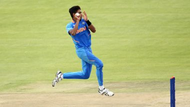 Who is Kartik Tyagi? Check Out Some Lesser-Known Facts About India U19 Pace Sensation as he Rattles Australia U19's Top Order in ICC U19 CWC 2020 Quarter-Final