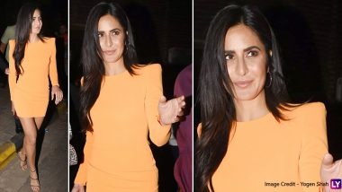 Hot Damn! Katrina Kaif Is Bringing Sexy Back and Fabulously in a Slinky Alex Perry Dress!