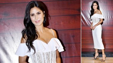 Katrina Kaif Helms a Rasario Little White Dress As the Perfect Party Staple!