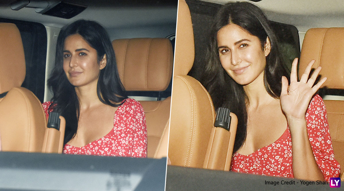 Thrifty Style: Katrina Kaif's Pretty Red Floral Dress Is Already Out Of Stock!