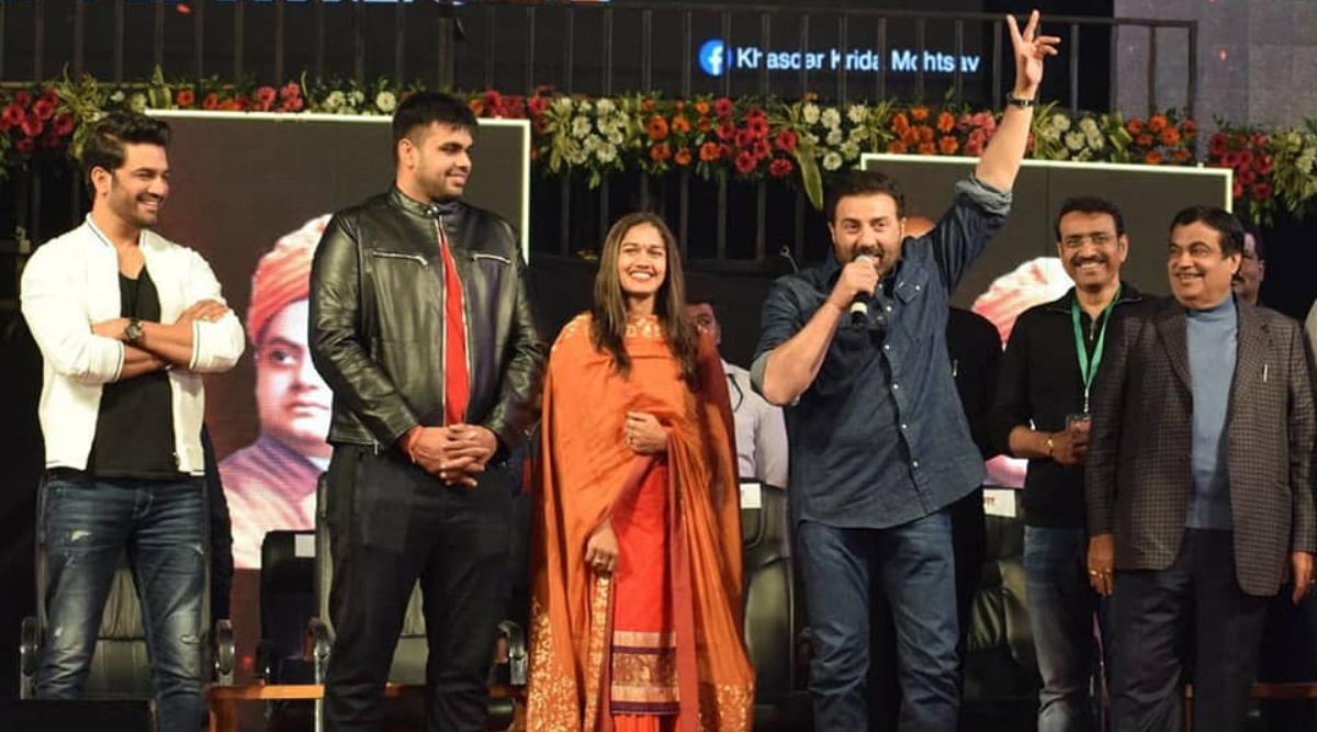Khasdar Krida Mahotsav 2020 Underway in Nagpur; Nitin Gadkari, Sunny Deol Inaugurate the Multi-Sport Event