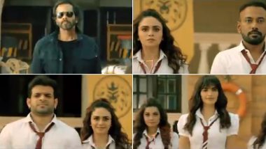 Khatron Ke Khiladi 10 Promo: Rohit Shetty Turns Into a Professor and Scares the Shit Out of the Contestants in Darr Ki University (Watch Video)