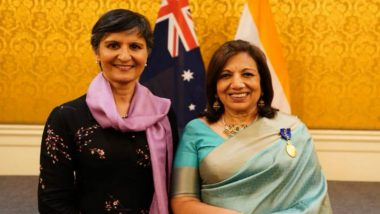 Kiran Mazumdar-Shaw Conferred With Australia's Highest Civilian Honour 'Order of Australia'