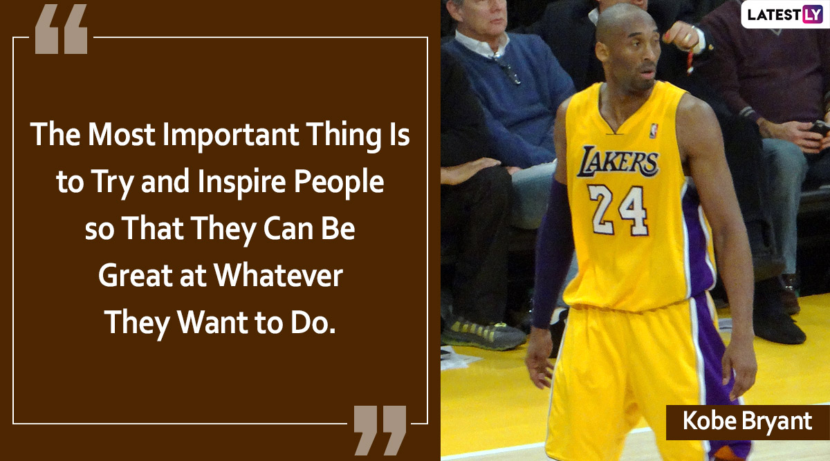 Kobe Bryant, Basketball Legend No More: 8 Inspirational Sayings on Life and Hard Work That Define NBA Legend's Legacy