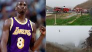 Kobe Bryant Dies at 41 in Helicopter Crash; Videos From Tragic Accident Spot Emerge Online