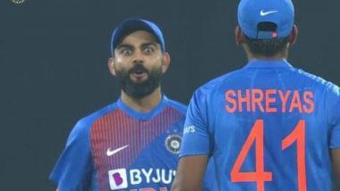 Virat Kohli Stunned by Shreyas Iyer's Six During India vs Sri Lanka, 2nd T20I 2020 (Watch Video)