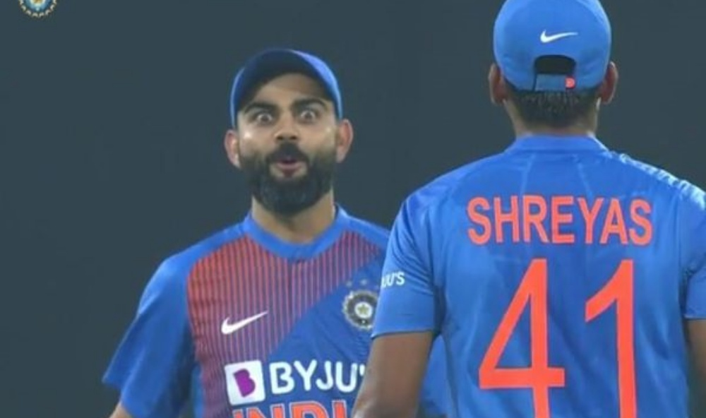 Virat Kohli Stunned by Shreyas Iyer's Six During India vs Sri Lanka, 2nd T20I 2020 (Watch Video)