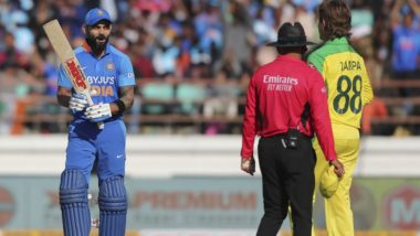 India vs Australia 2nd ODI 2020: Adam Zampa Dismisses Virat Kohli, Becomes Third Bowler to Account for Indian Captain Five or More Times