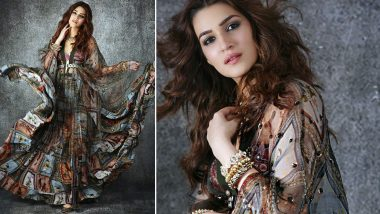 Kriti Sanon, the Bohemian Chic Bridesmaid in Shivan and Narresh!