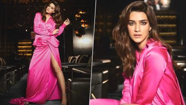 Kriti Sanon Redefines the Power of Bold Pink Looking All Kinds of Pretty!