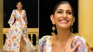 Thrifty Style: Kubbra Sait Paints a Pretty Picture in Rainbow Hues and This Style Can Be Yours Too!